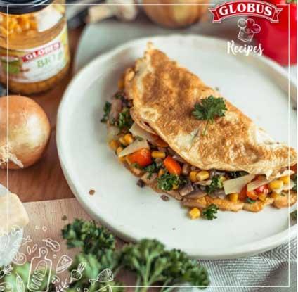 omlet sa povrcem